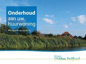 Onderhoud aan uw huurwoning - Wonen Midden-Delfland