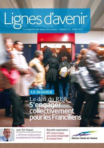 S'engager collectivement pour les Franciliens - RFF