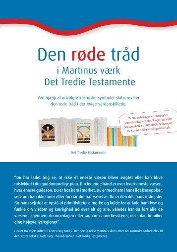 Hent brochure om Martinus (PDF) - AC-PC