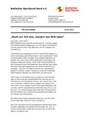 Download Pressemeldung Ehrungsabend - Badischer Sportbund ...