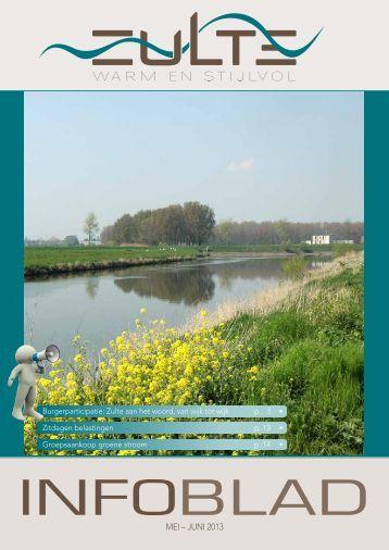 Infoblad juli - augustus 2013 - Gemeente Zulte