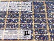 Presentatie Atelier Dutch - De Spin in het Web Home