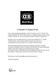 C toernooi VV Strijen 25 mei - Voetbal Vereniging Strijen