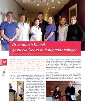 artikel kolbach nr 1 - Dr. Kolbach Kliniek