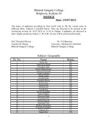 See list of eligible applicants for fresh counselling - bhairab ganguly ...