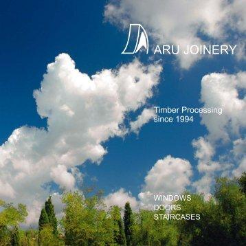 SASH windows - aru joinery