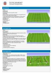 Sport Session Planner - Fortuna FF