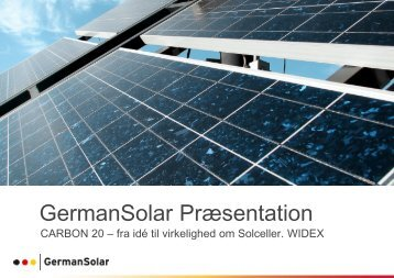 German Solar - Carbon 20