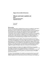 Wonen noch hotel: raadslid in de knel - Gemeentelijke Ombudsman