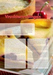 Vruchtenvullingen - Bakkers in Bedrijf