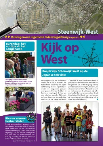 Kijk op West - Gemeente Steenwijkerland
