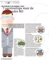 7 survivaltips voor de wethouder RO - Stedelijk Interieur