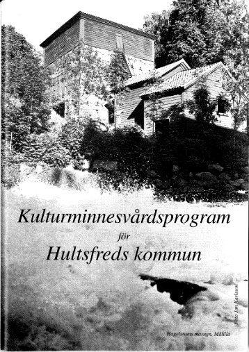 (Kulturminnesvårdsprogram för Hultsfreds kommun)
