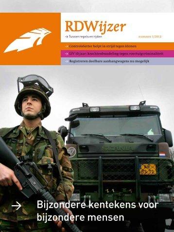 RDWijzer nummer 1 2012 pdf, 1770kb