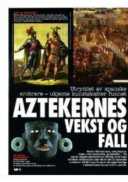 På 200 år skapte aztekerne en blodig, men høyt - Tone Sutterud