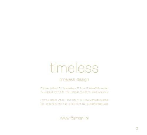 timeless design - Wilson & Macindoe