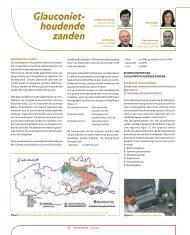 Glauconiethoudende zanden - GeoTechniek