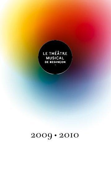 Brochure de saison 2009-2010 (pdf) - Culture-besancon.fr