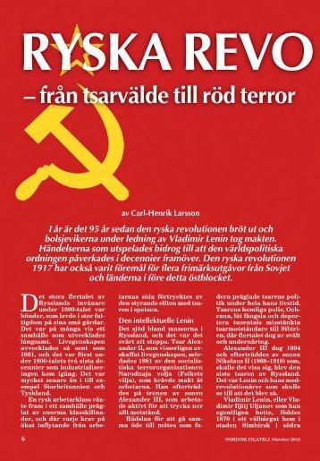 Ryska Revolutionen - Nordisk Filateli