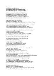 Vergezicht Psalm 80 en Marcus 13:28-32 ... - Oosterkerk