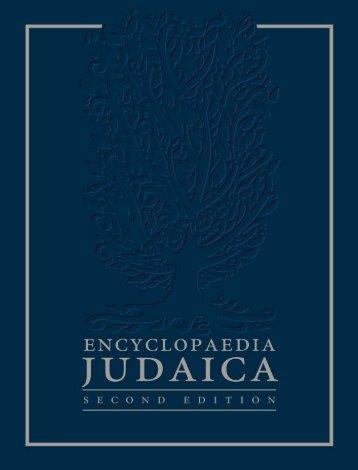 Encyclopaedia Judaica - Vol.06 (Dr-Feu) - WiccanGeek's Reading ...