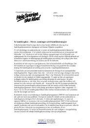 Läs mer - Hela Sverige ska leva