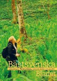 Bästsvenska bladet 2011 nr 2.pdf - Fältbiologerna