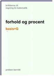 forhold og procent basis+G - Bernitt matematik