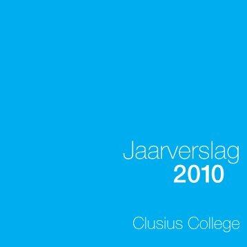 Jaarverslag 2010 - Clusius College