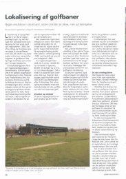 Lokalisering af golf baner - Turfgrass