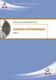 Machinale houtbewerking Deel 1 - ffc Constructiv