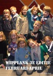 Wipplank Februari - Scouts Rode