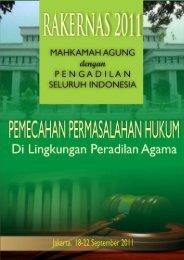 Pemecahan permasalahan hukum lingkungan peradilan ... - MS Aceh