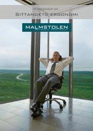Sittandets ergonomi - Malmstolen AB