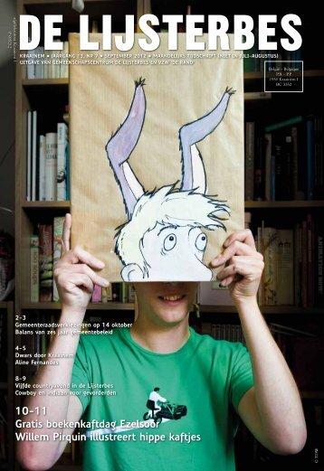 10-11 Gratis boekenkaftdag Ezelsoor Willem Pirquin ... - de Lijsterbes