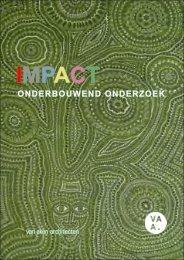 IMPACT, het onderbouwend onderzoek - BNA Onderzoek