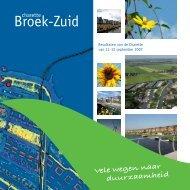 Rapport Broek Zuid - KNN BV