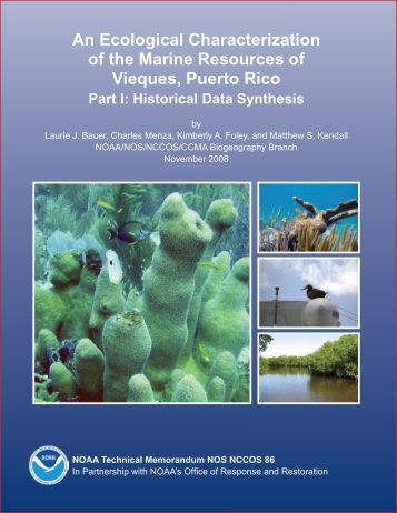 An Ecological Characterization of the Marine Resources of Vieques ...