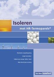 Download hier de algemene isolatie brochure - Termokomfort