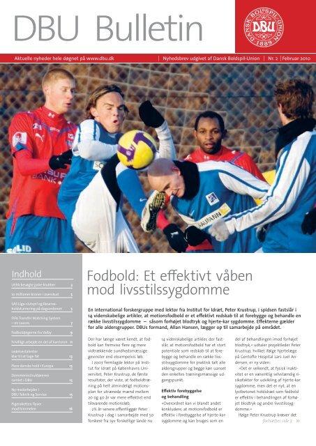 Fodbold: Et effektivt våben mod livsstilssygdomme - DBU