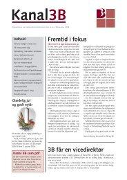 Fremtid i fokus 3B får en vicedirektør - Boligforeningen 3B