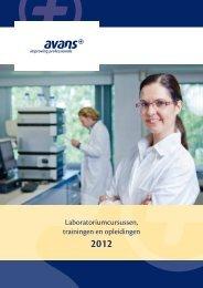 Avans Brochure 2012
