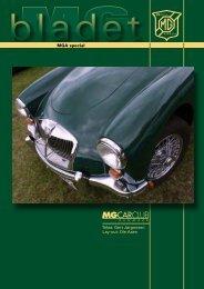 MGA special - MG Car Club, Denmark