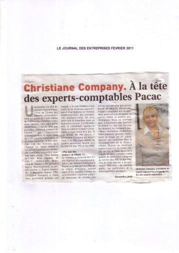 Articles de presse - février 2011 - Ordre des experts comptables