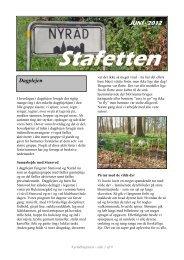 Nyråd Stafetten juni 2012