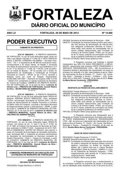 Download Prefeitura Municipal De Fortaleza Ce