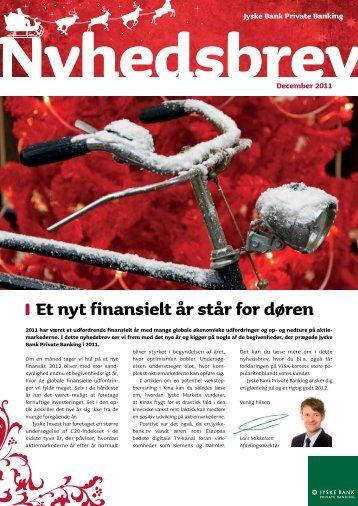 Et nyt finansielt år står for døren - Private Banking Copenhagen
