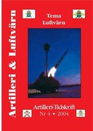 Artilleri-Tidskrift nr 4 2004
