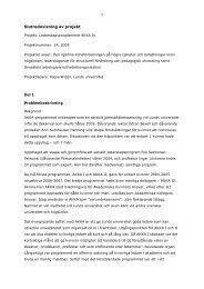 Slutredovisning av ledarskapsprogrammet AKKA IV