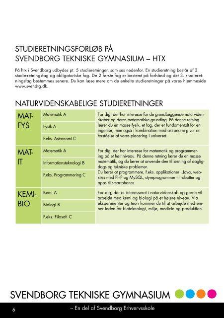 SVENDBORG TEKNISKE GYMNASIUM - Svendborg Erhvervsskole